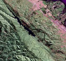 San Andreas Fault Line Map Nasa Radar Provides 3 D View Of San Andreas Fault Image Of The Day
