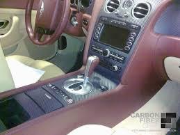 Car Interior Carbon Fiber Vinyl Bentley Continental Gt With 3m Carbon Fiber Di Noc Interior Trim