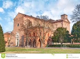 Utmb Campus Map The Certosa Of Ferrara Italy Stock Photo Image 50717308