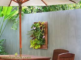 indoor living wall kit with traditional frame
