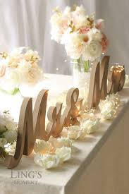 mr and mrs table decoration diy mr mrs table decor gpfarmasi 3a32db0a02e6