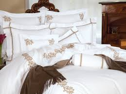 royal scroll luxury bedding italian bed linens schweitzer linen