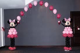 Balloon Decoration For Baby Shower Balloon Arch Minnie Mouse Balloon Arch