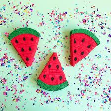 mini watermelon pinata tutti frutti party mini pinata