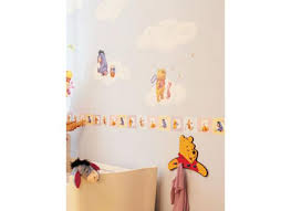 bordüre babyzimmer kinderzimmer bordüre disney winnie the pooh 100 acre wood