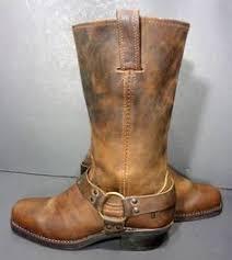 womens biker boots size 12 s designer handcrafted black leather biker boots