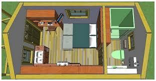 200 sq ft tiny house plans