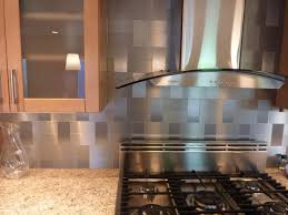 Metallic Tile Backsplash by Stainless Steel Tile Backsplash Home Depot Great Home Decor