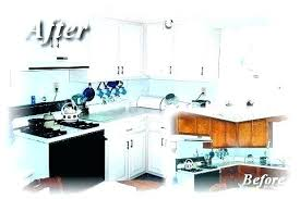 what does it cost to reface kitchen cabinets cost to repaint kitchen cabinets doublexit info