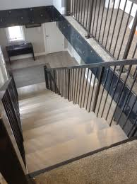 industrial style metal staircases windsor on 2 sunset metal fab inc