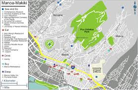 Honolulu Airport Map Honolulu Manoa Makiki U2013 Travel Guide At Wikivoyage