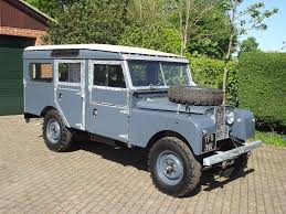 land rover series 1 hardtop a rare 1957 land rover series i 107 inch station wagon