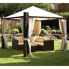 Gazebo Curtain Ideas by Ideas Rattan Gazebo Decor Rattan Gazebo For Layout U2013 Home Design
