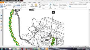 volvo truck d13 a wiring diagram link j1939 dhtauto com youtube