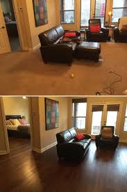Hazelnut Laminate Flooring Before And After July U0027s Top Makeovers