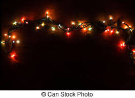black colored christmas lights colorful christmas lights on black background colorful stock