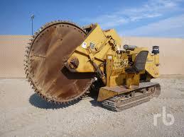 vermeer t600d crawler rock saw trenchers pinterest tractor