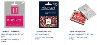 giftcard deals discounted gift cards prime day starts tonight