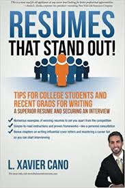 Stand Out Resume Resumes That Stand Out Tips For College Students And Recent