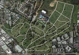 Arlington Cemetery Map Holy Cross Cemetery Ca Celebrity Graveland