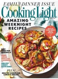 cooking light subscription status cooking light magazine subscription discount 67 magsstore