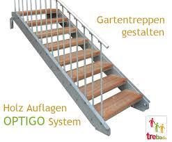 bausatz treppe gartentreppe holz stahl treppen bausatz do it yourself