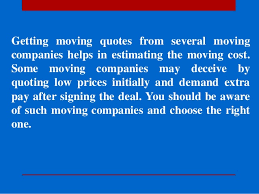 Moving Company Quotes Estimates by Moving Quotes Honest Movers Affordable Moving Company You Can Trus