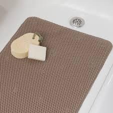 Bathtub Mats Non Slip Comfort Foam Bath Mat Full Sized Soft Padded Tub Mat Bathtub Mats