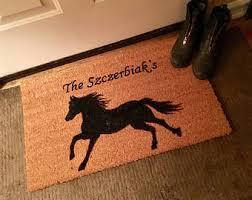 Outdoor Rugs For Horses Doormat Etsy