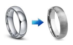 satin finish ring how tungsten carbide rings are made