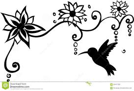 bird floral wall decal vector illustration stock illustration royalty free illustration download bird floral wall decal