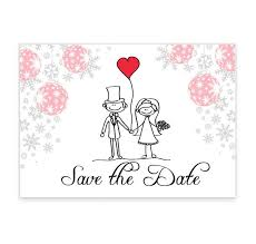 save the date card christmas stick save the date card loving invitations