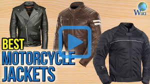 best mens leather motorcycle jacket top 10 motorcycle jackets of 2017 video review