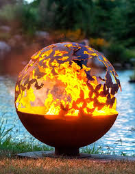 Fire Pit Globe by 10 Awesome Fire Pit Ideas That Are Bound To Impress Friends And Family