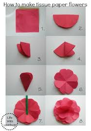 tissue paper flowers tissue paper flowers with lovebugs