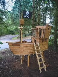 Pirate Ship Backyard Playset by Building Plans For A Pirate Ship Playhouse For Evan Pinterest