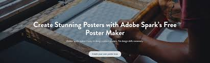 Best Program To Design Business Cards Poster Maker Create Beautiful Posters For Free Adobe Spark