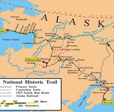 Iditarod Map Alsaska Das Härteste Schlittenrennen Der Welt Welt
