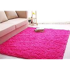 Purple Rugs For Bedroom Amazon Com Generic 0270 Super Soft Modern Shag Area Rug 4 U0027 X 5
