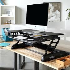 desk standing desk station staples desk top stand up workstation