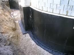Basement Tanking Methods - exterior waterproofing basement tanking