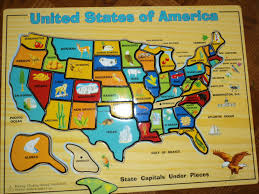 Map Of The Usa States by Early Learning With Marta Eaton And Nathaniel United States Of