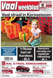 vaalweekblad 14 16 desember 2016 by jannie du plessis issuu