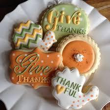 thanksgiving cookies bambellacookies via flickr orange green