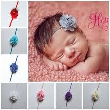 newborn headbands new newborn headbands chiffon flowers hair accessories for