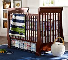 Pottery Barn Kids Baby Bedding Alligator Madras Baby Bedding Set Pottery Barn Kids