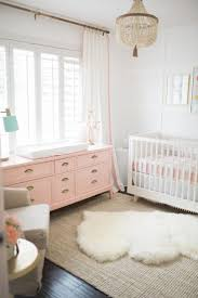 Pink And Brown Curtains For Nursery by Best 25 Pink Gold Nursery Ideas On Pinterest Diy Nursery