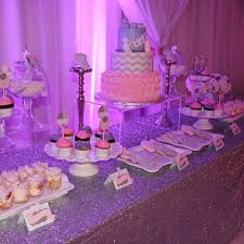 pink and silver baby shower beelovedparties instagram photos and