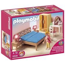 chambre enfant playmobil playmobil 5331 chambre des parents avec coiffeuse achat et vente