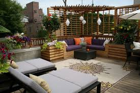 exterior heavenly outdoor living space design using solid pine